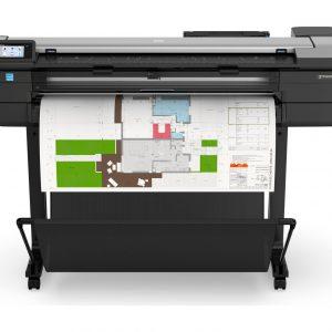 HP DesignJet T830 36 pollice A0 stampante multifunzione