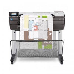HP DesignJet T830 24 pollice stampante multifunzione A1