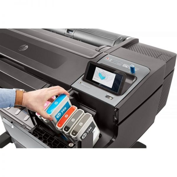 HP Designjet Z6 with vertical trimmer