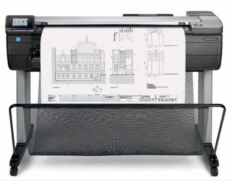 HP Designjet T830 A0 multifunctional