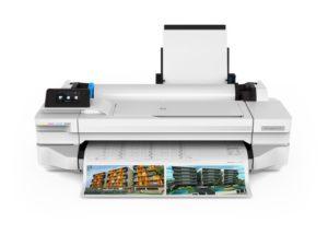 HP Designjet T125 24 pollice plotter