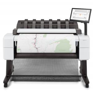 HP Designjet T2600 doppio rotolo 36 pollice postscript stampanti multifunzione